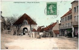 23 CROCQ - Place De La Halle - Crocq