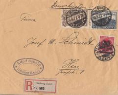 DR Orts-R-Brief Mif Minr,254,261,282 Limburg (Lahn) 30.8.23 - Cartas