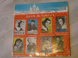 SUCCES DE PARIS N°4. LUCIENNE DELYLE. LINE RENAUD. GEORGES GUETARY. LAFFRGUE. MATHE ALTERY. CLAVEAU. NEUVILLE.OLIVIERI. - Vinyl-Schallplatten