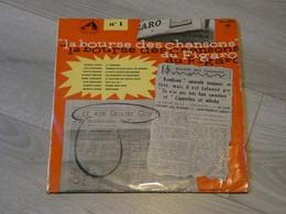 LA BOURSE DES CHANSONS. LUIS MARIANO. GLORIA LASSO. YVETTE GIRAUD. GILBERT BECAUD. NOEL CHIBOUST. - Vinyl-Schallplatten