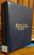 """Notices """"1er Jour"""" Des Timbres-poste De France 2007- 46 Notices Dans Leur Classeur - Documenten Van De Post"""