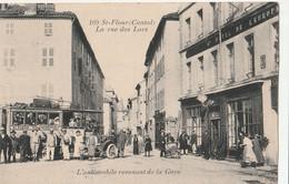 15  SAINT FLOUR  Ville AUTOBUS RUE DES LACS - Saint Flour