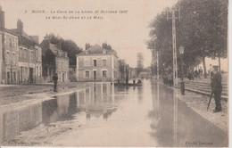 41 - BLOIS - LA CRUE DU 21.10.1907 - LE QUAI ST JEAN ET LE MAIL - Blois
