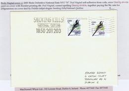 "Ireland 2003 Birds Definitives Error ""N"" Insciption ""GlasUg Shr-ide"" Used On Cover Together With 48c Correct Inscription - Brieven En Documenten"