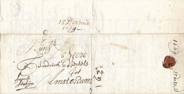 RUSSIE RUSSLAND RUSSIA 1669 Extremely Early Letter From MOSCOW To AMSTERDAM - Unclassified