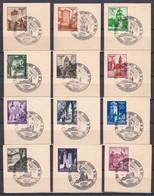 Generalgouvernement - 1940 - Michel Nr. 40/51 - Sonderstempel - Besetzungen 1938-45