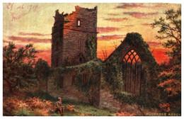 Raphael Tuck & Sons - 7283, Killarney Muckross Abbey - Tuck, Raphael