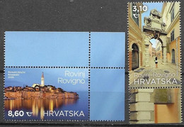 CROATIA, 2020, MNH , TOURISM, ROVINJ, ROVIGNO, CATHEDRALS, OLD TOWNS,2v - Sonstige