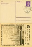 DR PP 156 C5-01 -  6 Pf Hitler Litzmannstadt M. Bl. Sonderstempel 1942 - Stamped Stationery