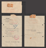 Egypt - 1935 - Rare - Vintage Document - The Informant - Weekly - Financial - Covers & Documents