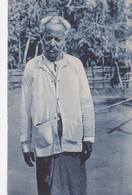 "POSTCARD EAST TIMOR - TIMOR PORTUGUÊS - OLD PORTUGUESE COLONY -TIPOS E COSTUMES ( UM CHEFE "" Dato "" ) -  ETHNIC - East Timor"