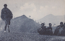 POSTCARD EAST TIMOR - TIMOR PORTUGUÊS - OLD PORTUGUESE COLONY -TIPOS E COSTUMES ( MONTANHESES ) -  ETHNIC - East Timor