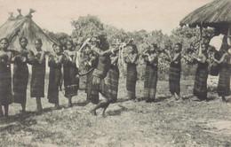 POSTCARD EAST TIMOR - TIMOR PORTUGUÊS - OLD PORTUGUESE COLONY - UMA EVOLUÇÃO DO BATUQUE   -  ETHNIC - East Timor