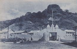 POSTCARD EAST TIMOR - TIMOR PORTUGUÊS - OLD PORTUGUESE COLONY - TRANQUEIRA E POVOAÇÃO DE BOBONARO - East Timor