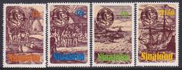 Tonga Niuafo'ou 1985 Sc 51-54 Mint Never Hinged - Tonga (1970-...)