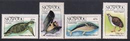 Tonga Niuafo'ou 1984 Sc 42-45 Mint Never Hinged - Tonga (1970-...)