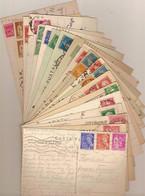 (St.Post.).Francia.Lotto 73 Cartoline Con Differenti Affrancature (118-19) - Sammlungen
