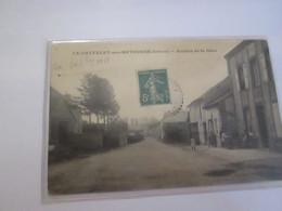 Cpa De  Le Chatelet Sur Retourne Avenue De La Gare - Sin Clasificación