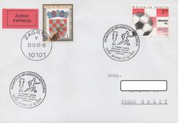 Croatia, Football, Dinamo Zagreb Winner Of UEFA Cup 1966_7 - Club Mitici