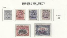 COB  OCC 55/61   (°) - [OC55/105] Eupen/Malmedy