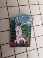 SP06 Pin's Pins / Beau Et Rare / THEME : AUTRES / RIVIERE CASCADE SAUT DU DOUBS Je M'abstiens !! - Other
