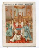 Calendrier 1890-1891 : Pub Galeries Rémoises Reims   Format 142*106 Mm      VOIR  DESCRIPTIF  §§§§ - Calendari
