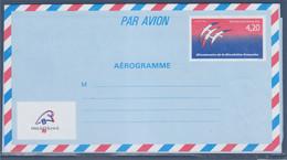 Bicentenaire De La Révolution. Timbre Au Type 2560  N°1017-AER  AEROGRAMME - Luftpostleichtbriefe