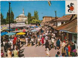 Sarajevo - Bas Carsija / The Main Market / Le Marché Central / Marktplatz -  (YU.) -  Basketball W.C. 1970 FIBA Logo - Joegoslavië