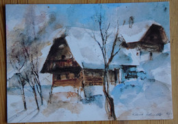 Carte Au Profit De La Fondation Pro Juventute - Lutte Contre La Tuberculose - Illustration De Klara Scholler - (n°18682) - Künstlerkarten