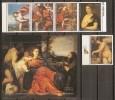 PINTURA - PARAGUAY 1989 - Yvert #2400/04+H - MNH ** - Altri
