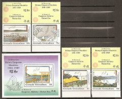 PINTURA - GRENADINES 1989 - Yvert #976/79+H167 - MNH ** - Non Classificati