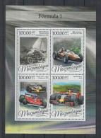 Mozambique, 2016, Formula I, Racing, Cars, MNH Sheet, Michel 8649-8652 - Mozambique