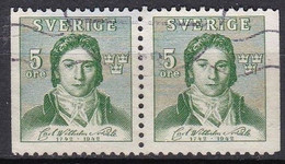 SE132 – SUEDE – SWEDEN – 1942 – CARL WILHEIM SCHEELE – Y&T 296/97 USED - Used Stamps