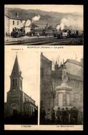 69 - MONSOLS - LA GARE - L'EGLISE - LE MONUMENT - Altri Comuni