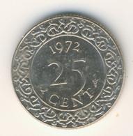 SURINAME 1972: 25 Cent, KM 14 - Surinam 1975 - ...