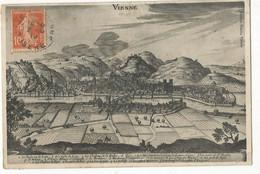 CPA, D. 38, Vienne En 1654 , Ed. Blanc - Vienne