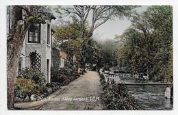 I.O.M. - The Drive, Rushen Abbey Gardens - Pmk. Single Circle Ballasalla - Isola Di Man (dell'uomo)