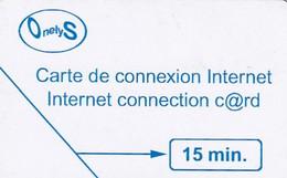 FRANCE - Onelys Internet Promotion Card, Used - Surf
