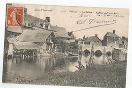 50 Ducey La Selune Arrivée Au Vieux Port Animée - Ducey