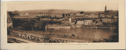 ALBI : Musée D'Albi- Chemin De Ronde Des Saisons  Et La Terrasse De Dyonisos ( Phototype Labouche 10x27) - Albi