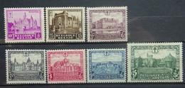 BELGIE 1930     Nr. 308 - 314    Spoor Van Scharnier *    CW  60,00 - Nuevos