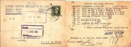 Czechoslovakia Company Postcard ... Ak905 Brandys Nad Labem - Covers & Documents