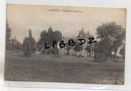 CPA - 19 - LUBERSAC - Château De Pré De Vaulx - Cliché Pas Courant - Altri Comuni