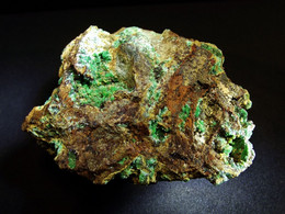 Annabergite On Matrix ( 6 X 5 X 2.5 Cm) - KM 3 - Lavrion - Greece - Mineralen
