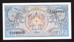 BHUTAN P12  1 NGULTRUM (1986)    UNC. - Bhutan
