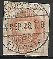 HONGRIE   -    Journaux   -  1881 .   Y&T N° 4A Oblitéré. - Newspapers