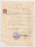 1943 LETTRE DE MAIRIE DE DUGNY A SINISTRE BOMBARDEMENT  ( Indemnites Demenagement Reinstallation )  COSI C1238 - Documentos Históricos