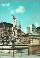 Firenze (Toscana) Piazza Signoria, Fontana Del Nettuno (il Biancone), Signoria 's Square, Signoria Platz - Firenze (Florence)