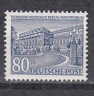 Men_ Berlin 1949 - Mi.Nr. 55 - Postfrisch MNH - Ungebraucht