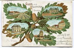CPA - Carte Postale - France - Gruss Aus Konigshofen - Strassburg - 1901 (SVM14133) - Straatsburg